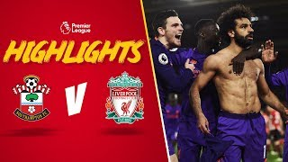 Incredible Mo Salah solo goal | Southampton 1-3 Liverpool | Highlights