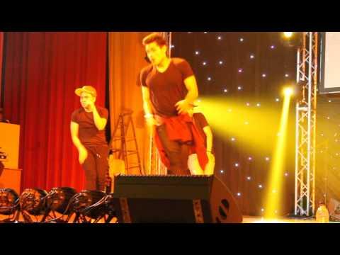 Xian Lim dancing Wiggle Wiggle (Primetime Heartthrobs Live in Dubai)