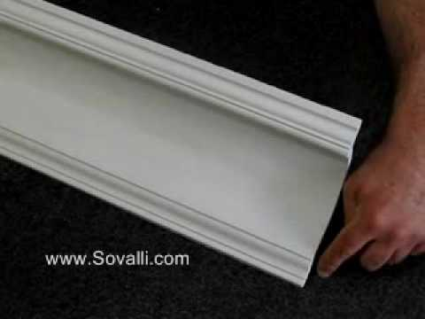 HPCV005 Sovalli Decorative Plaster Coving
