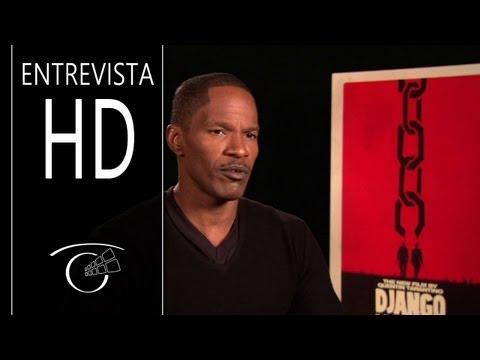 Django Desencadenado - Entrevista Jamie Foxx HD