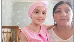 Девочка Эмили борется с раком головного мозга