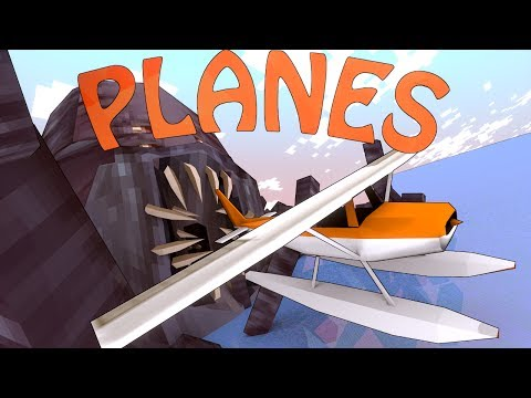 Minecraft   FIGHTER PLANES MOD Showcase! (Helicopters mod. Planes Mod. War Mod)