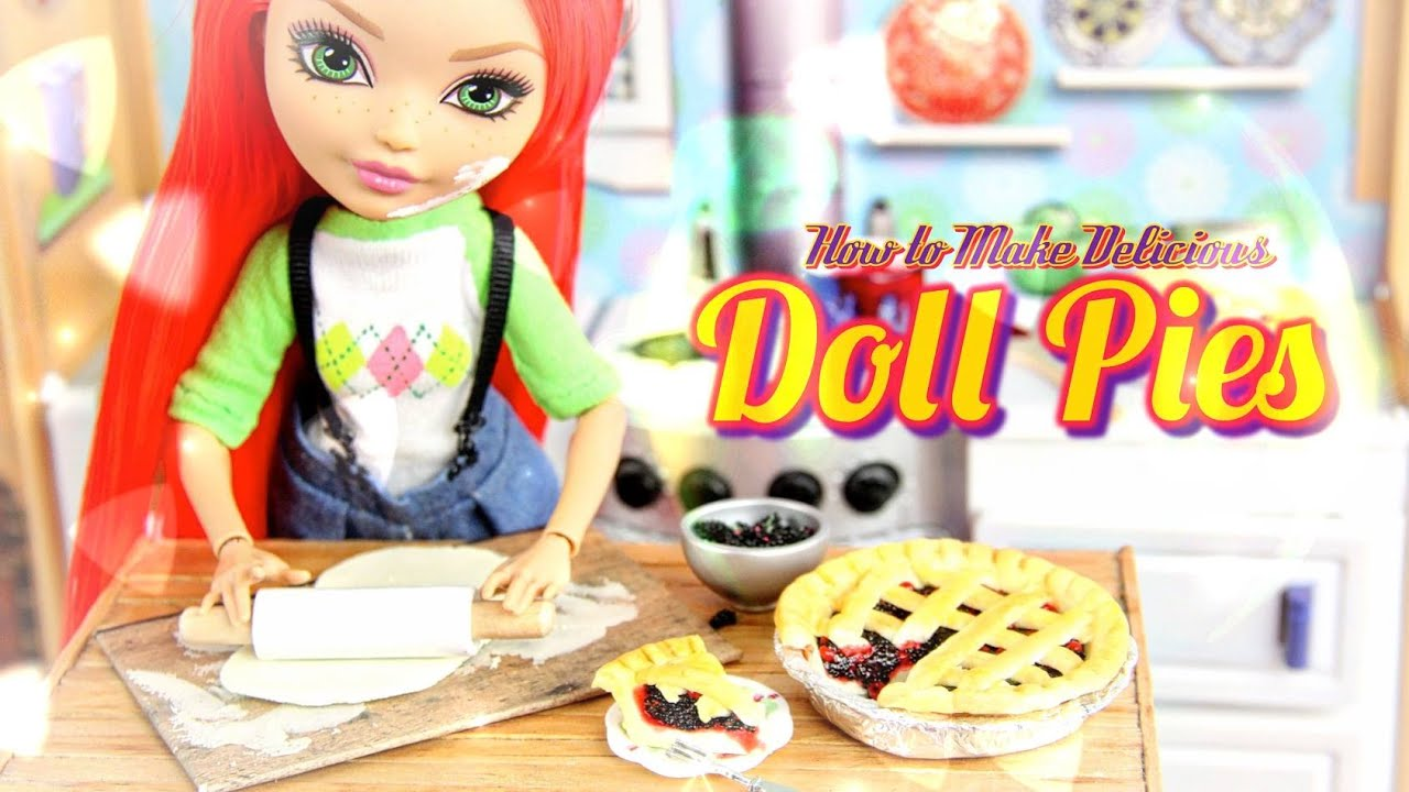 Paper Doll Kitchen Food