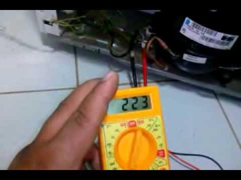 Como testar termostato de geladeira