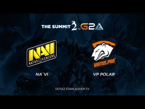 NaVi vs VP Polar The Summit 2 Day 15 Game 4