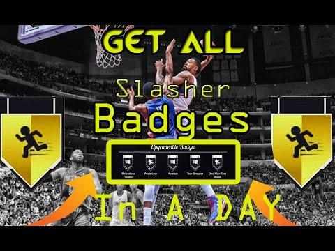 Slasher badges