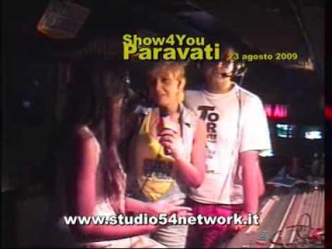 Paravati 2009, Luisa Corna con Studio54 Network!!