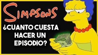 💰 ¿Cuanto Cuesta Hacer un Episodio de los Simpsons?