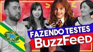 VOCÊ SERIA ELEITO PRESIDENTE DO BRASIL 🇧🇷 E OUTROS TESTES DO BUZZFEED | ESPECIAL