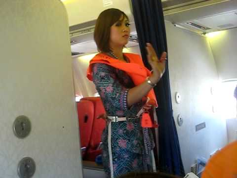 MAS Safety Procedure (MH 1449 - Malaysian Hospitality)