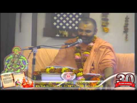 Cardiff Temple 30th Patotsav 2012 - Day 4 - Morning Vachnamrut Katha