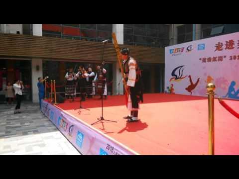 "2016 Shanghai Tourism Festival public show-FS ""PODPLANEC"" , Slovakia-2"
