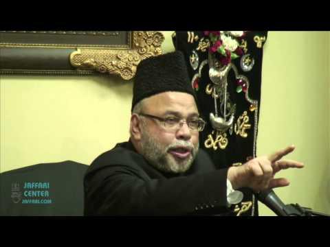 9th Muharram Majlis 2015/1437 - Maulana Sadiq Hasan