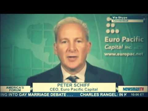 America's Forum - Peter Schiff discusses the global markets