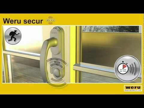 Weru Secur - Das Sicherheitsfenster Mit Alarmfunktion