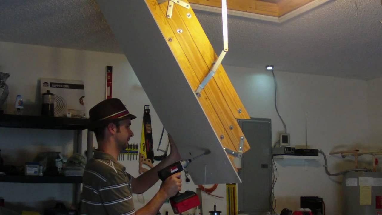 Diy Garage Vent Teamed With My Solar Attic Fan Green