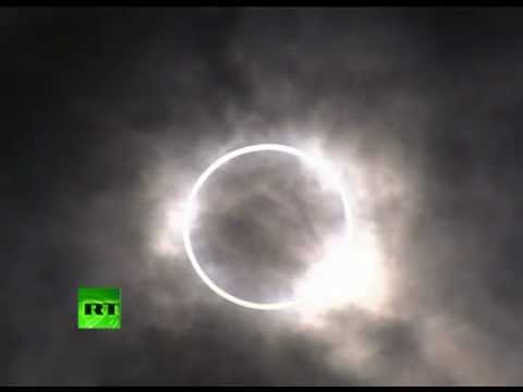 Video: Rare 'ring of fire' solar eclipse seen across Asia
