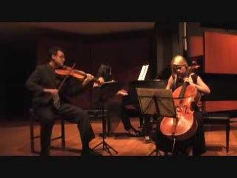 Brahms Clarinet Trio 2nd Movement