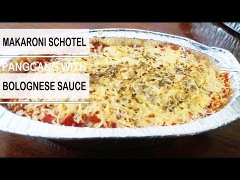Resep Cara Memasak Macaroni Schotel Panggang With Sauce Bolognese