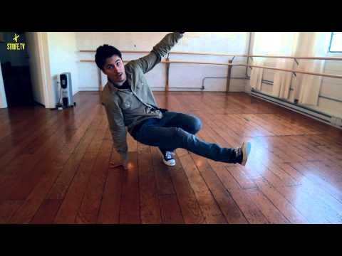 B-boy Milestone | Renegade Rockers | Footwork Tutorial | Strife.tv video