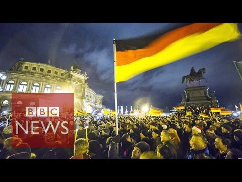 Anti-islam 'pegida' Rally In Dresden Sees Record Turnout video