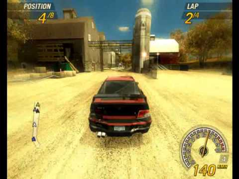 FlatOut 2 Gameplay (PC) -CrCl3ap56pE