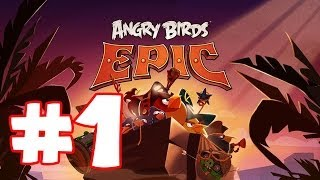 Angry Birds EPIC!! | Ethan plays Mobile Games