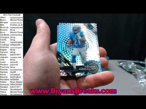2015 High Tek Football Case ~ Auctions