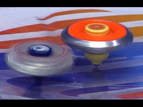 Beyblade Battle Series Battle 3 Beyblade Legends Burn Fireblaze Vs Lighting L-drago Battle video