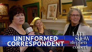 The Late Show's Uninformed Correspondent