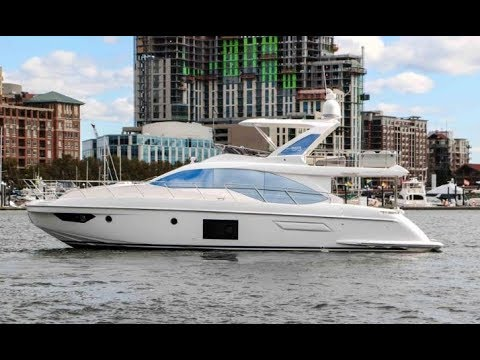 2019 Azimut 55 flybridge Yacht For Sale at MarineMax Baltimore, MD