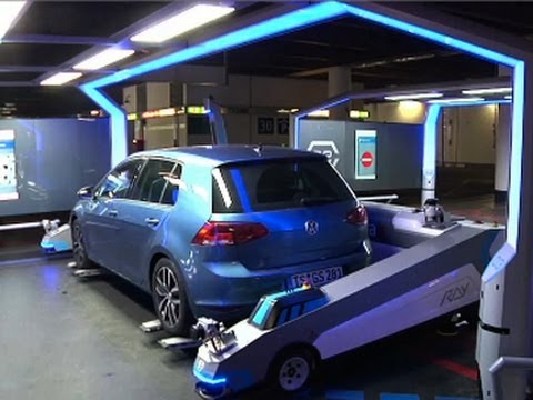 Robot Parking Valet Creates Stress-free Travel