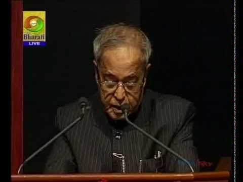 SPEECH by SHRI PRANAB MUKHERJEE PRESIDENT OF INDIA