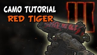 Call of Duty: Black Ops 3 Beta - Paint Shop| MW2/ COD4 Red Tiger Camo | Tutorial