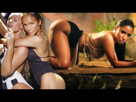 Nicki Minaj 'anaconda' Vs Jennifer Lopez 'booty' – Best Booty Anthem Of 2014 video