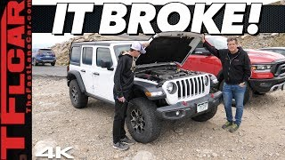 Driving On The Highest Road in America — This Happened to Our New Jeep Wrangler!