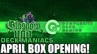 Monthly box opening! (OOH BABY) Deckmaniacs.com Yu-Gi-Oh! box!