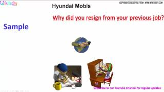 hyundai mobis top most technical interview questions and answers for freshers تجربة شركة هيونداي