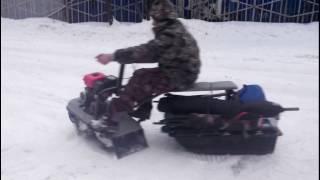 мини снегоходы рыбак в новосибирске