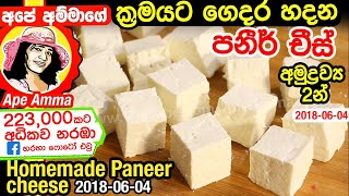 Soft & Quick Paneer Recipe