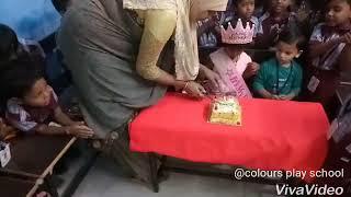 Colours play school at moula ali