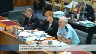 Has Trump based nuclear bombers in Australia? #estimates