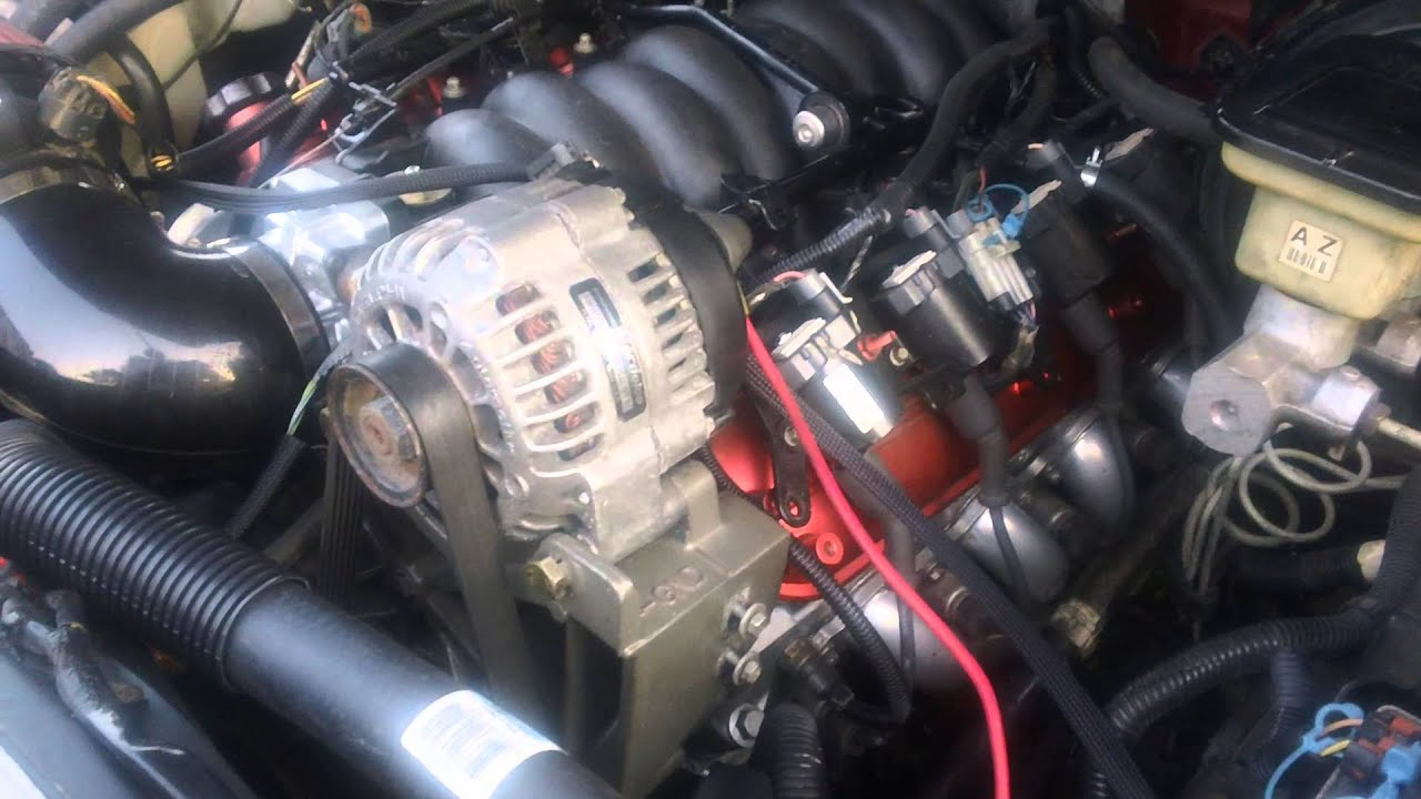 S10 5 3L swap part 9 First start up YouTube