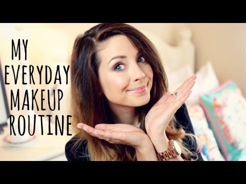 My Everyday Makeup Routine   Zoella