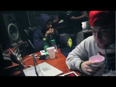 Nipsey Hussle &  Mac Miller (in studio footage)