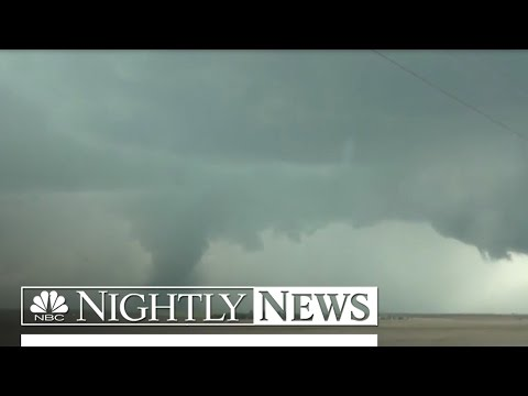 Severe Storms, Tornadoes Tear Through Plains States | NBC Nightly News