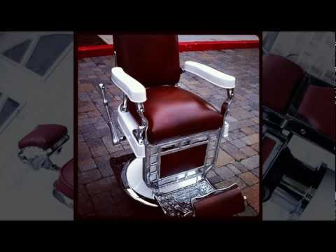 1920's Theo A. Koch Barber Chair Restoration