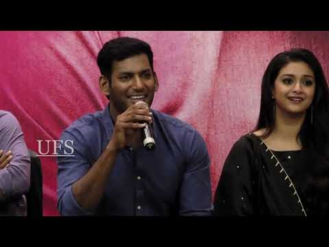 Vishal open talk about Sri reddy