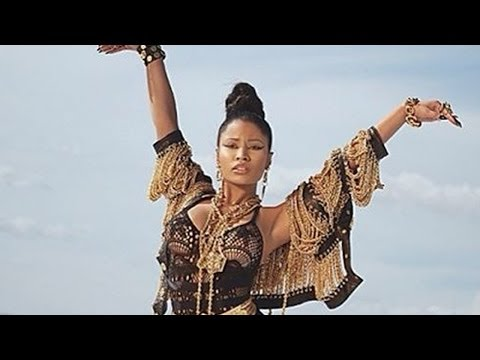 "Nicki Minaj New Song ""Senile"" & Sexy Music Video Shoot Behind The Scenes!"