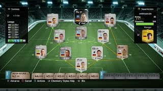 YOUNG GERMAN BEASTS ft. IF Lasogga, Gnabry & Werner   FIFA 14 Ultimate Team Squad Builder